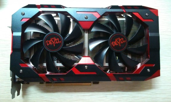 PowerColor RX 580 Red Devil Golden Sample