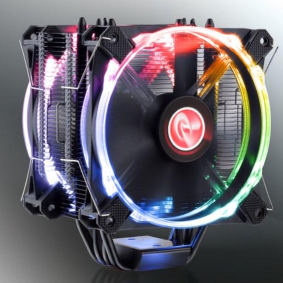 raijintek lights up its leto hsf with rgb fans