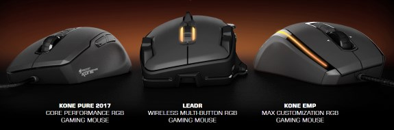 ROCCAT Owl Eye mice