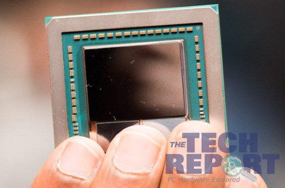 AMD Vega HBM2 first photo of chip