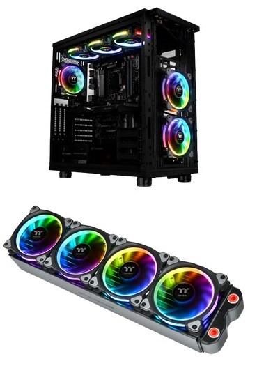 TT Riing RGB LED fans