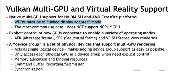 Vulkan Multi GPU