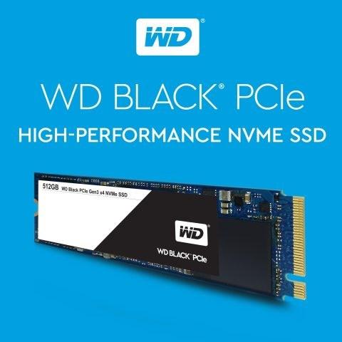 WD Black PCIe