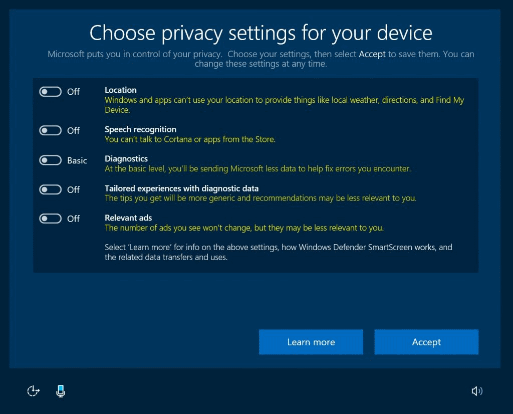 Windows 10 snoop dials