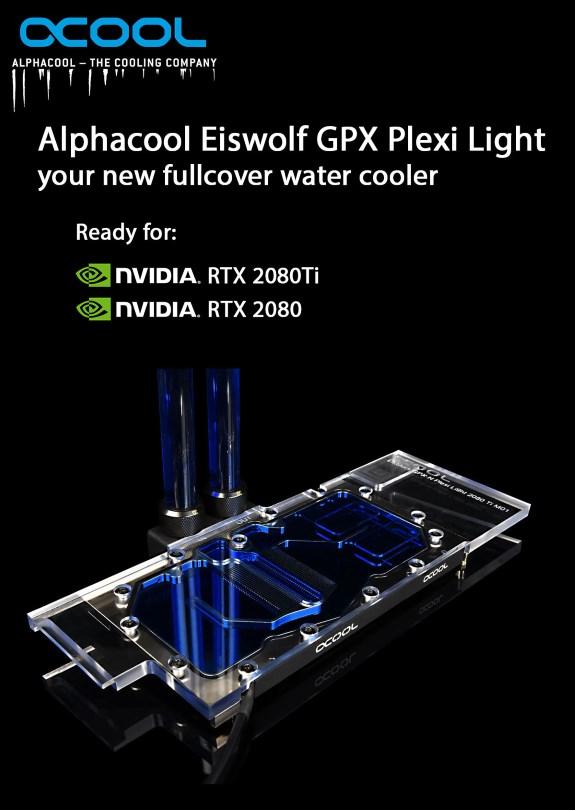 Alphacool Eiswolf GPX Plexi Light