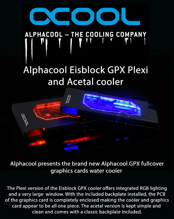 Alphacool Eisblock GPX RGB
