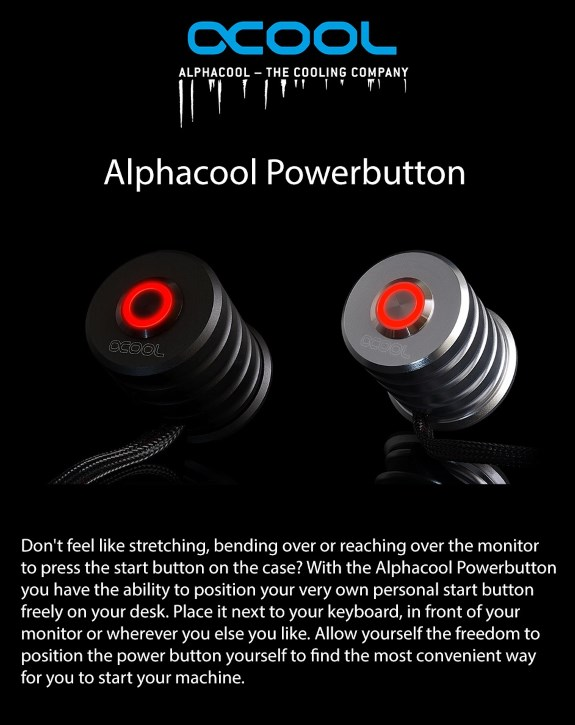 Alphacool Powerbutton