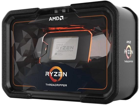 AMD second gen threadripper box