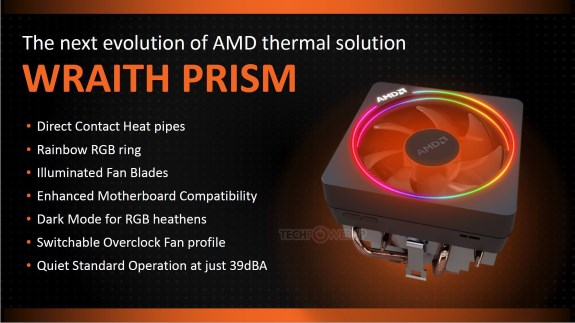 AMD Wraith Prism CPU