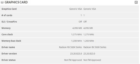 AMD RX 560X