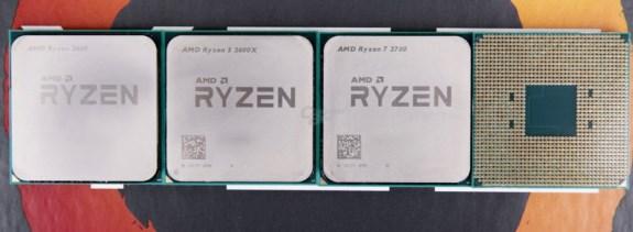 AMD Ryzen 7 2700 Ryzen 5 2600 Ryzen 5 2600X