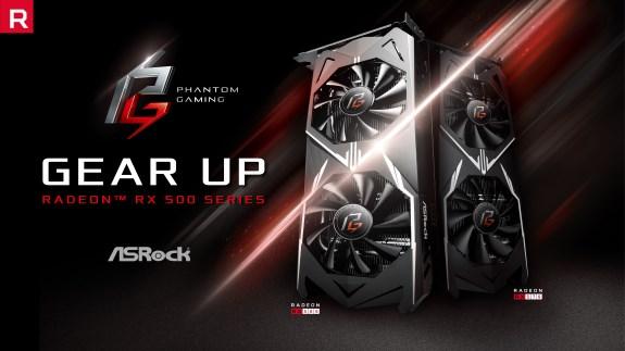 AMD ASRock Phantom Gaming Series GPU Cards