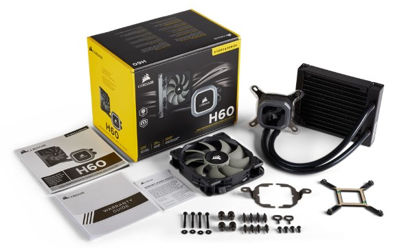 Hydro Series H60 Liquid CPU Cooler