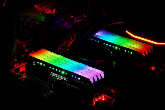 Crucial Ballistix Tactical Tracer RGB DDR4