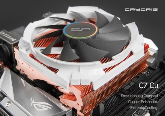 C7 Cu Heatsink