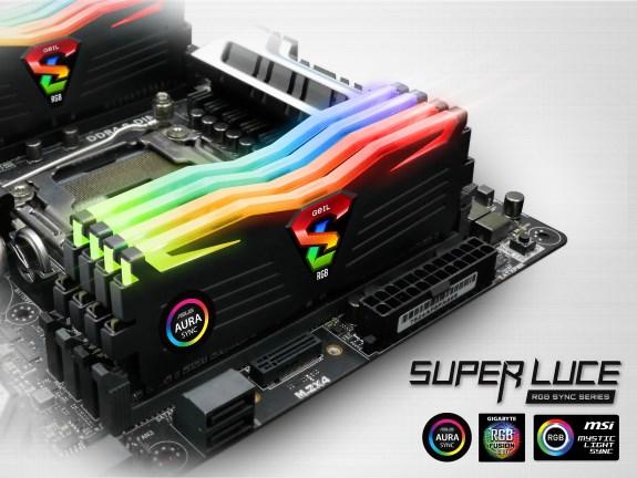 Super Luce RGB Sync Gaming Memory