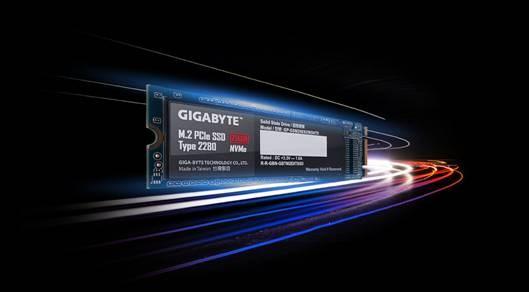 Gigabyte  NVMe M.2 SSDs