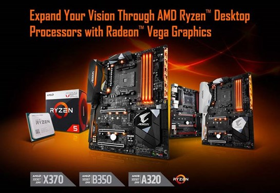 Gigabyte compatibility with Raven Ridge