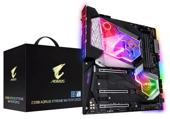 WaterForce Z390 AORUS xtreme