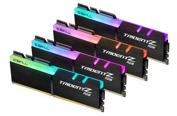 GSkill DDR4 Trident Z RGB