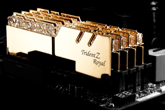 GSkill Trident Z Royal DDR4