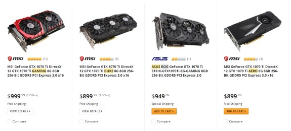 NVIDIA gpU pricing going bonkers