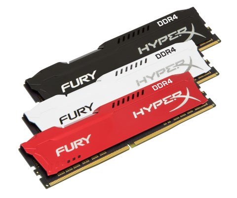 FURY DDR4 and Impact DDR4