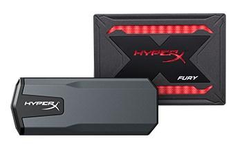 FURY RGB SSD and SAVAGE EXO SSD