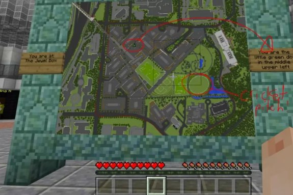 Microsoft Minecraft campus plan