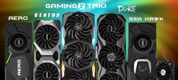 MSI GEForce RTX series