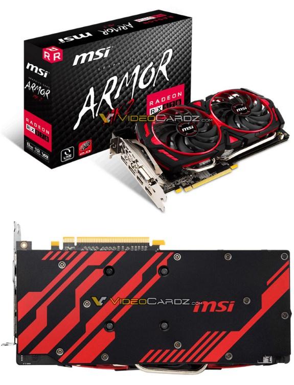 MSI RX 570 ARMOR MK2