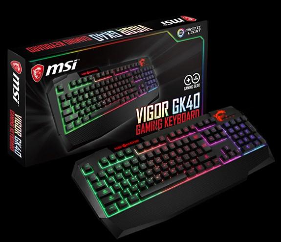 Msi Showcases Immerse Gh60 Headset And Vigor Gk40 Keyboard