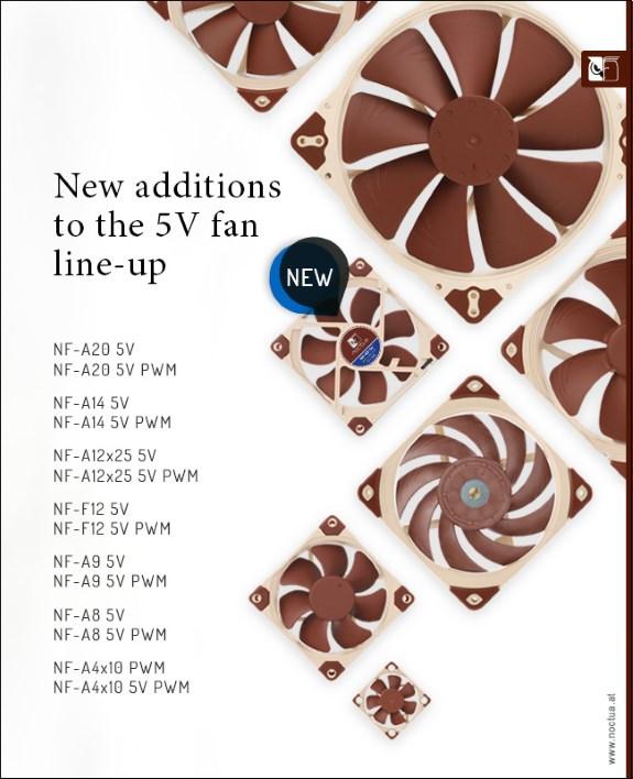 Nocatu 5V lineup