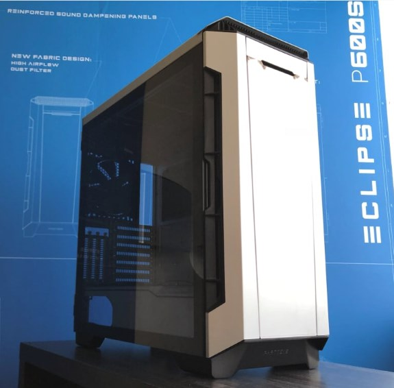 Phanteks Eclipse P600s Teased At Computex