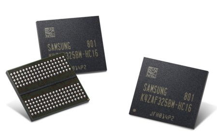 Samsung 16Gb GDDR6 chips