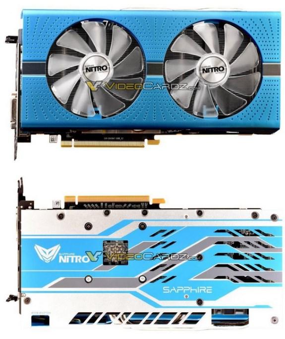 Sapphire RX 590 Nitroplus card