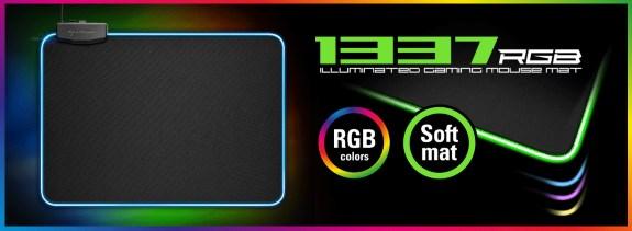 Sharkoon 1337 RGB mousepad