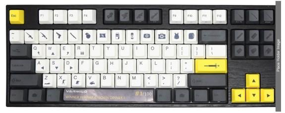 Varmilo PUBG keyboards