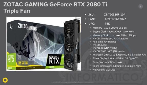 Pricing Leaks Of Zotac Geforce Rtx 2080 Series