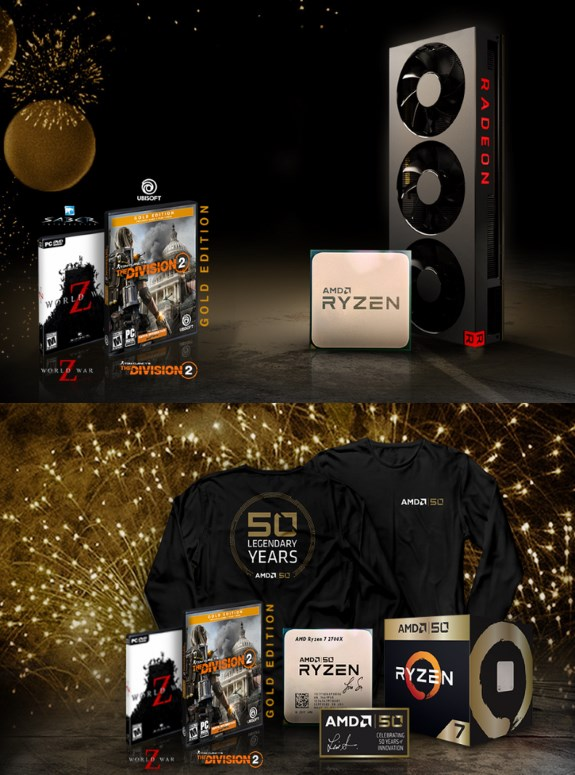 AMD 50th birthday
