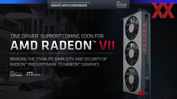 AMD Radeon VII no Pro