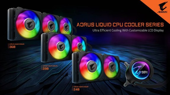 AORUS LIQUID COOLER Series