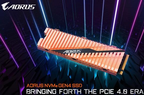 AORUS SSD Gen 4 PCIe