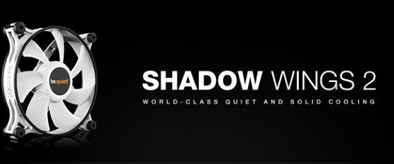 bequiet Shadow Wings 2 white