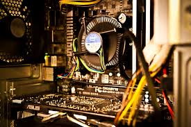CPU in case with HSF