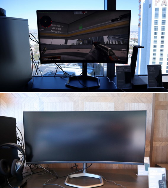 CM gaming displays