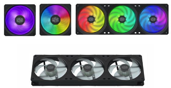 Cooler Master Debuts Three Square Fans
