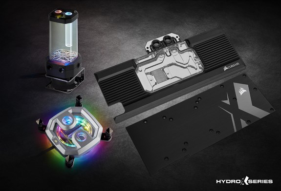 Corsair Hydro X Custom Watercooling Is Now Available