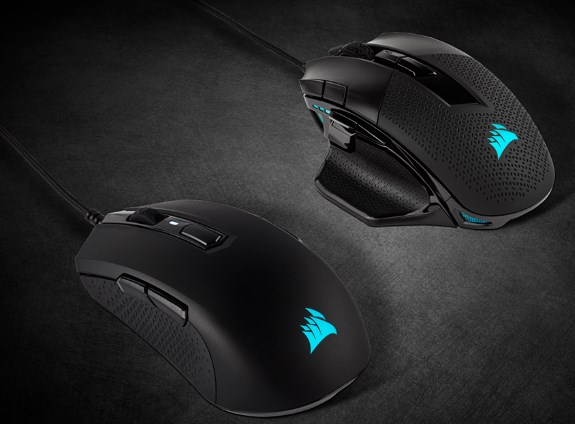 Corsair new mice June 2019