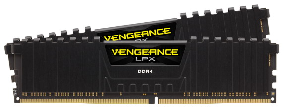 CORSAIR VENGEANCE LPX DDR4 goes 4866MHz